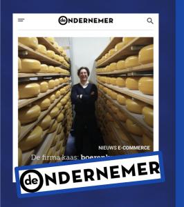 de ondernemer de firma kaas