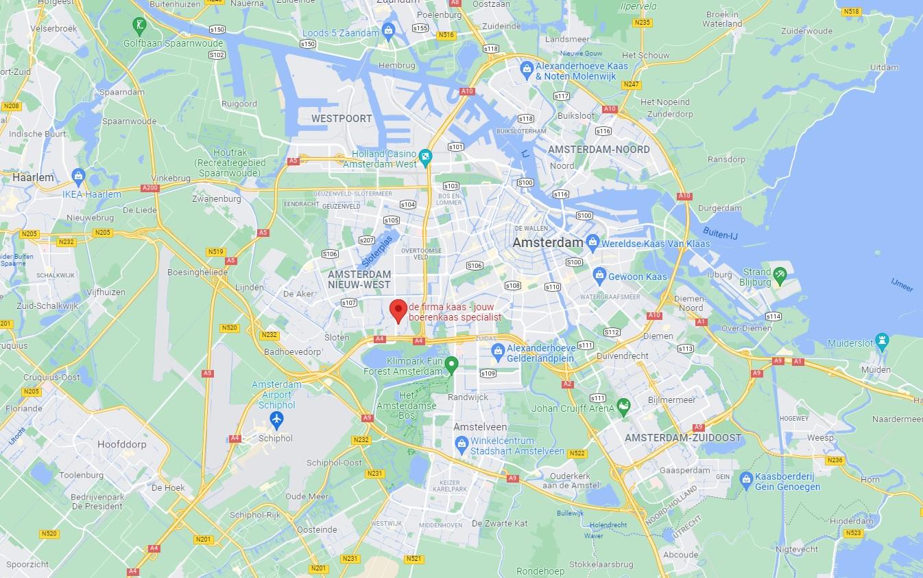 de firma boerenkaas op google maps