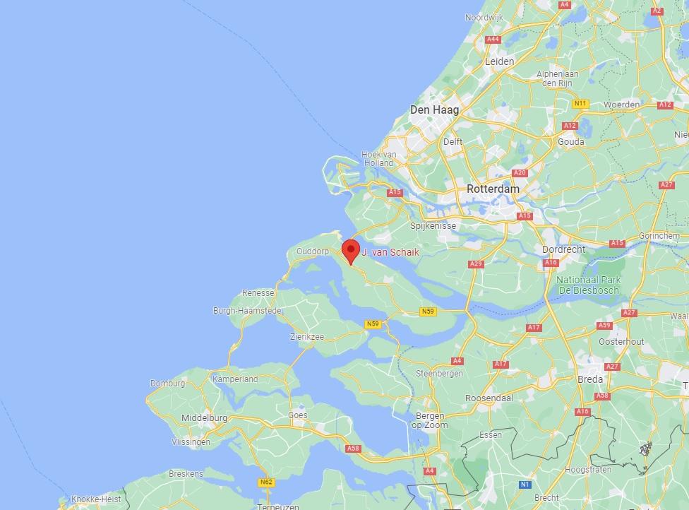 kaasboerderij van schaik op google maps